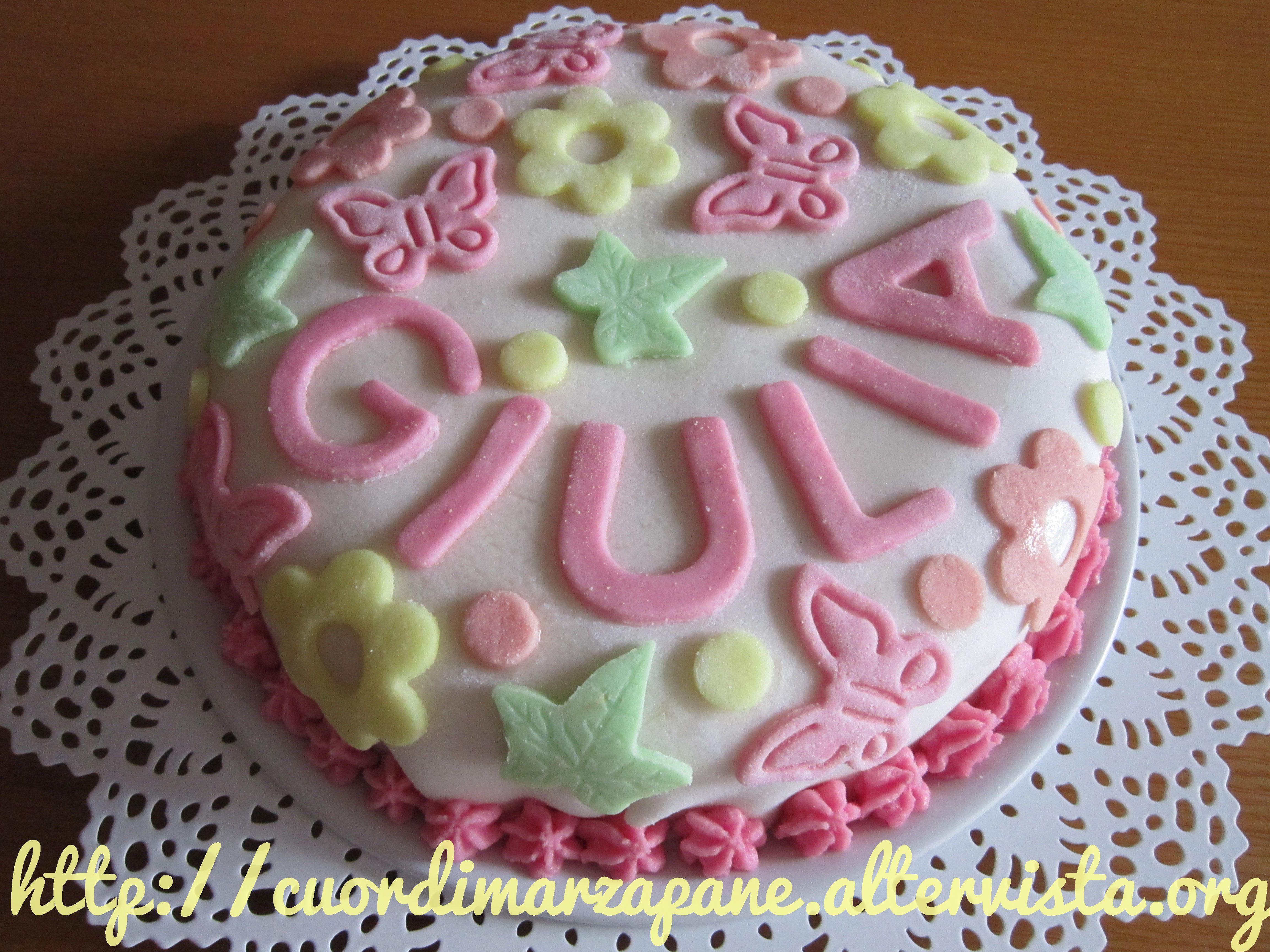 Torta di Giulia | Cuordimarzapane