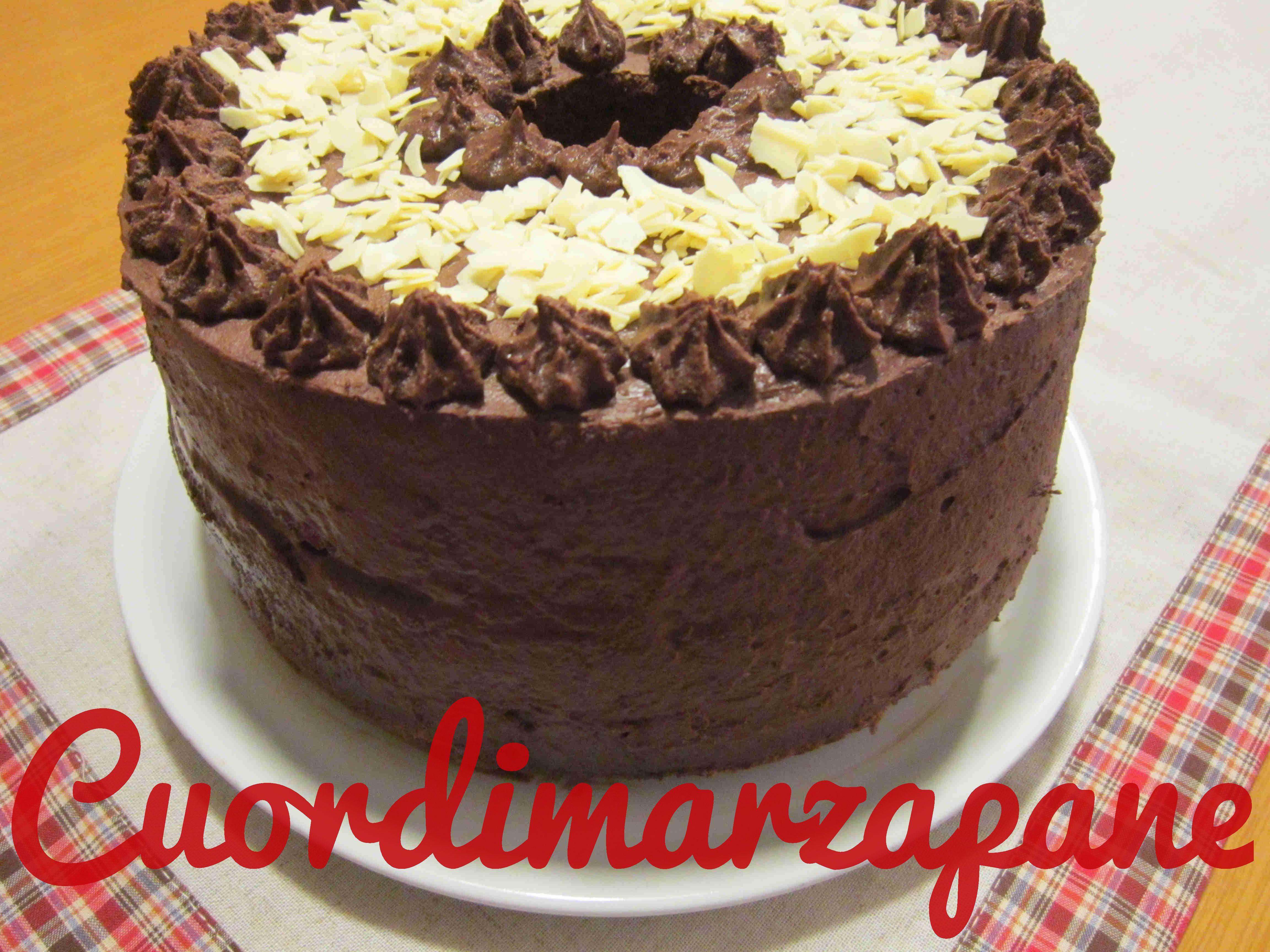 CHIFFON CAKE AL CAFFÈ e cioccolato bianco, torta americana